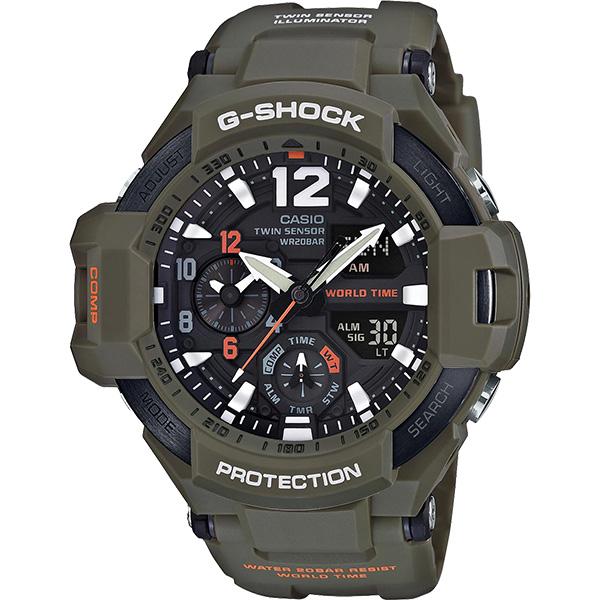 Casio G-Shock GA-1100KH-3A férfi karóra. Eladási ár  ... cbaeb28d84